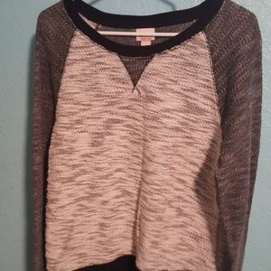 Soft heathered pullover